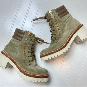 MONCLER • Vivienne Combat Boot